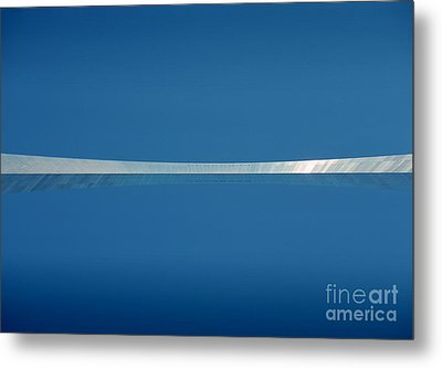 Top Of The Arch Metal Print
