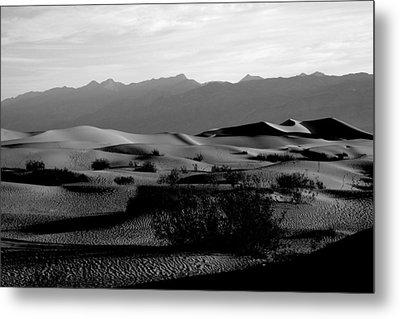 Top Of The Dunes, Death Valley Metal Print by Erica Keener