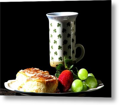 Top Of The Morning Metal Print by Angela Davies