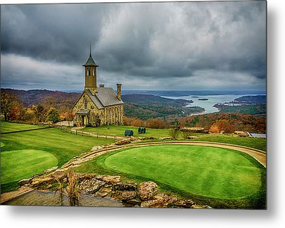 Top Of The Rock Branson Mo 7r2_dsc2627_16-11-25 Metal Print by Greg Kluempers