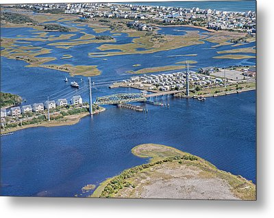 Topsail Island The Iron Lady Metal Print by Betsy Knapp