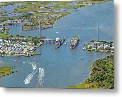 Topsail Island Top Of The Hour Metal Print by Betsy Knapp