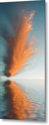 Torch Of Freedom Metal Print by Jerry McElroy