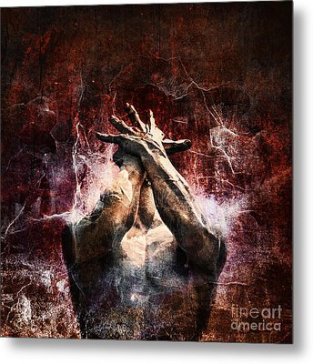 Torment Metal Print by Andrew Paranavitana