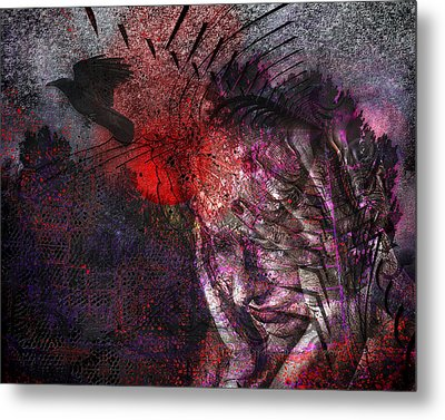 Torment Metal Print by Mimulux patricia no No