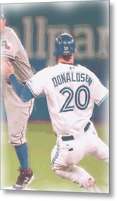 Toronto Blue Jays Josh Donaldson 3 Metal Print by Joe Hamilton