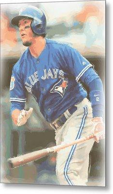 Toronto Blue Jays Troy Tulowitzki Metal Print by Joe Hamilton