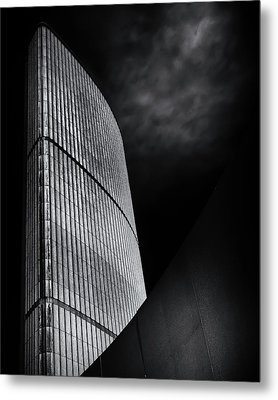 Metal Print featuring the photograph Toronto City Hall No 5 by Brian Carson