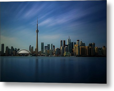 Toronto Cityscape Metal Print by Ian Good