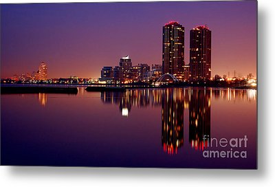 Toronto Cracking Dawn Metal Print by Joe  Ng