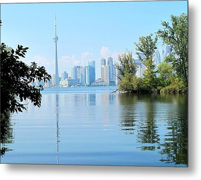 Toronto From The Islands Park Metal Print