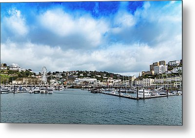 Metal Print featuring the photograph Torquay Devon by Scott Carruthers