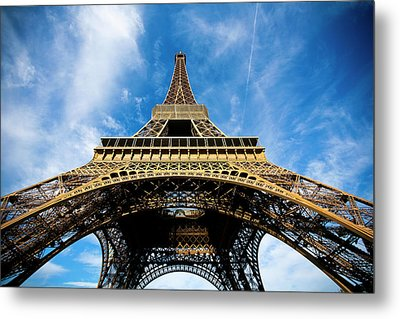 Torre Eiffel - Tour Eiffel - Eiffel Tower Metal Print by Ruy Barbosa Pinto