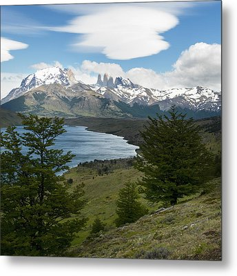 Torres Del Paine National Park Metal Print by Keith Levit