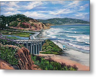 Torrey's Bridge Metal Print