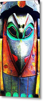 Totem 7 Metal Print by Randall Weidner