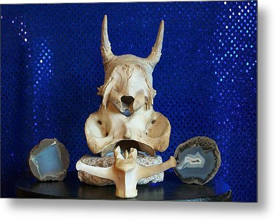Totem Metal Print by Carolyn Cable