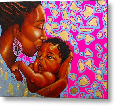 Touch Of Mother Love Metal Print by Emery Franklin