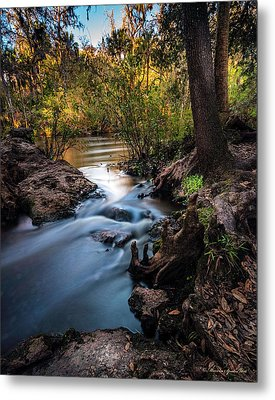 Touchable Soft Metal Print by Marvin Spates