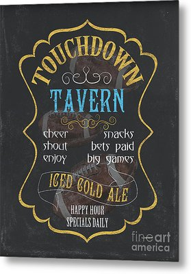Touchdown Tavern Metal Print by Debbie DeWitt