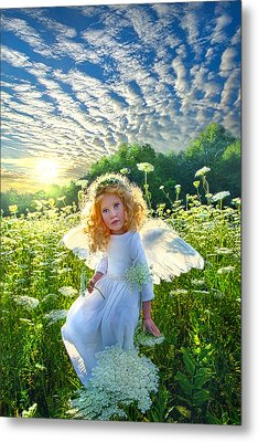 Touched By An Angel Metal Print by Phil Koch