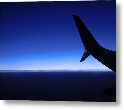 Touched By Blue Skies Metal Print