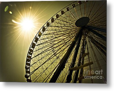 Touching The Sun Metal Print by Alessandro Giorgi Art Photography