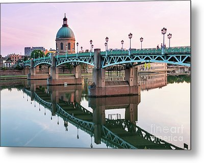 Metal Print featuring the photograph Toulouse At Sunset by Elena Elisseeva