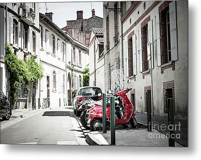 Metal Print featuring the photograph Toulouse Street by Elena Elisseeva