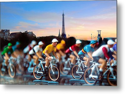 Tour De France Metal Print by John Rivera