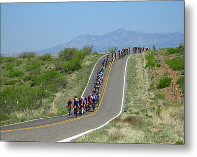 Tour Of The Gila 2017 Metal Print by Feva Fotos