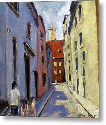 Tour Of The Old Town Metal Print by Richard T Pranke