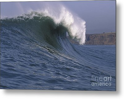 Toward The Cliffs Metal Print by Stan and Anne Foster