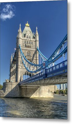 Tower Bridge 2 Metal Print by Chris Day