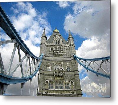 Tower Bridge 2 Metal Print by Madeline Ellis