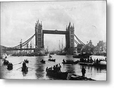 Tower Bridge Metal Print by Francis Frith & Co