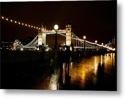 Metal Print featuring the photograph Tower Bridge  London by Jane Melgaard