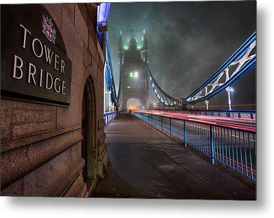 Tower Bridge Metal Print by Thomas Zimmerman