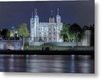 Tower Of London Metal Print by Joana Kruse