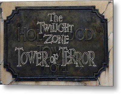 Tower Of Terror Metal Print by David Nicholls