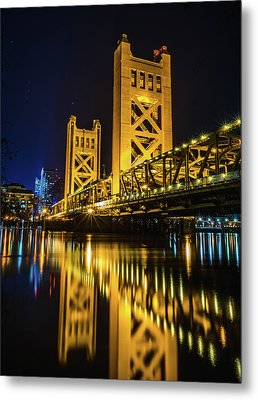 Tower Reflections Metal Print by Alpha Wanderlust