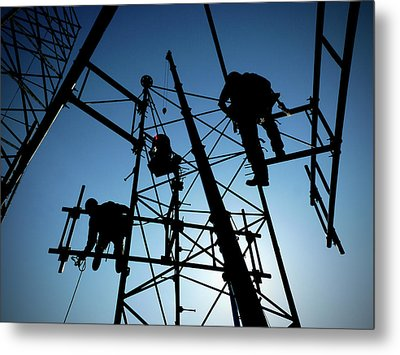 Metal Print featuring the photograph Tower Tech by Robert Geary