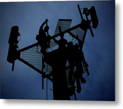 Metal Print featuring the photograph Tower Top by Robert Geary