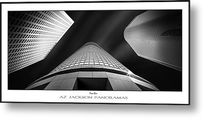 Tower Wars Poster Print Metal Print by Az Jackson
