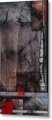 Towering Winds Metal Print