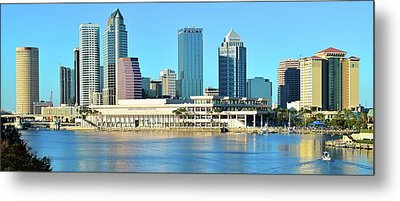Metal Print featuring the photograph Towers By The Bay by Frozen in Time Fine Art Photography