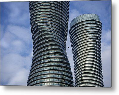 Towers Metal Print by Rob Andrus