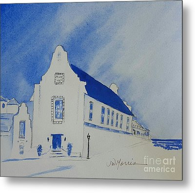 Town Hall, Rosemary Beach Metal Print