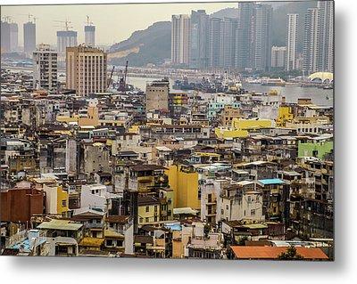 Town In Macau Metal Print by Hyuntae Kim