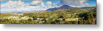 Town Of Zeehan Australia Metal Print by Jorgo Photography - Wall Art Gallery